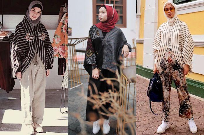 Model atasan hijab untuk muslimah bergaya etnik
