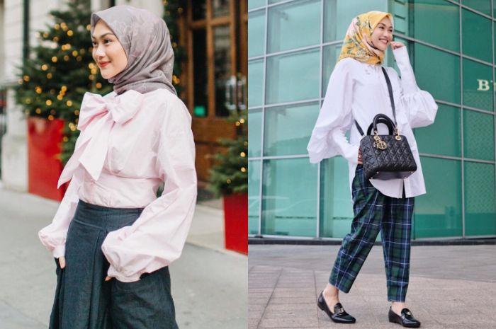 Model atasan hijab untuk muslimah bergaya vintage