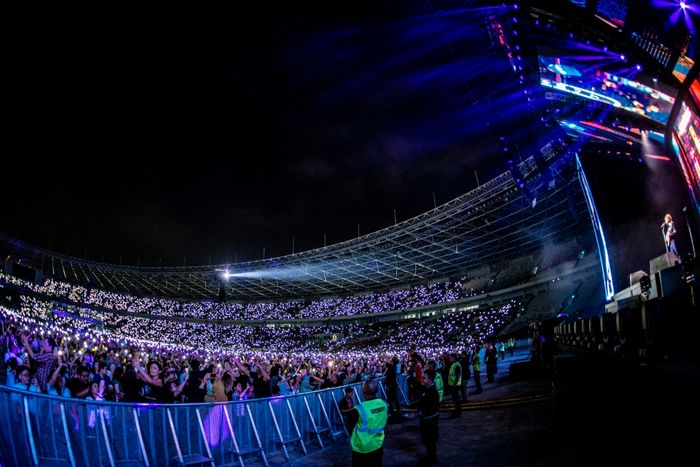 Konser Ed Sheeran di Jakarta
