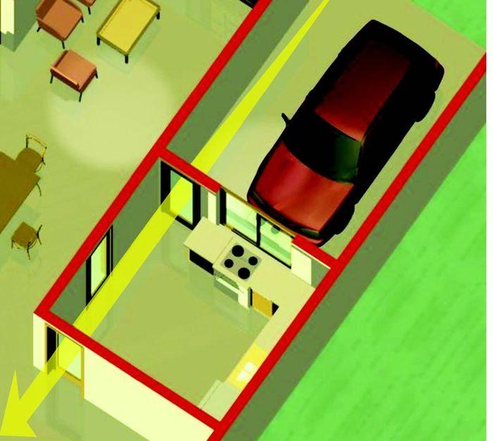 Desain Dapur Dekat Garasi pikir pikir lagi jika desain dapur setelah carport feng