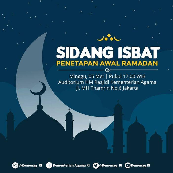Ramadhan 1440 H: Jelang Perayaan Ramadhan, Kementrian Agama Bagikan 3 Agenda Utama dalam Sidang Isbat