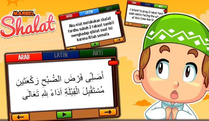 Tersedia bantuan audio doa-doa shalat