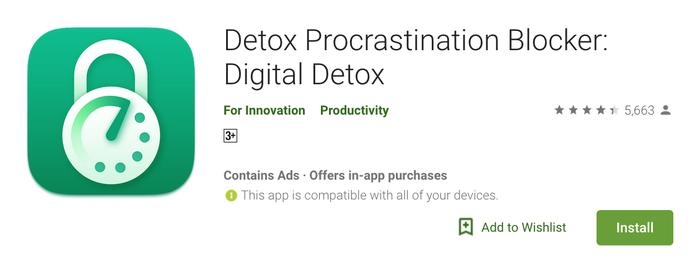 Aplikasi Detox