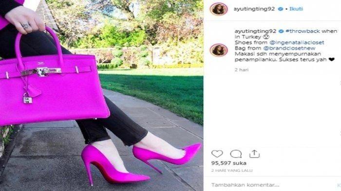 Pamer Sepatu dan Tas Mewah Saat di Turki, Ayu Ting Ting Malah Dilabrak Selebgram Internasional karena Pakai Fotonya Tanpa Izin