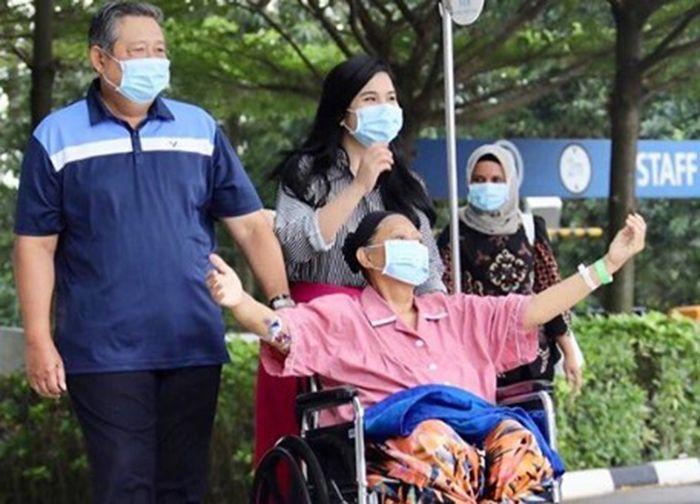 Kondisi Ani Yudhoyono sempat membaik sebelum meninggal dunia