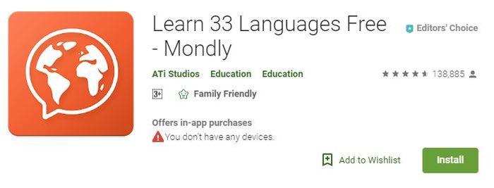 Mondly, Aplikasi yang Bisa Bantu Kamu Belajar 30 Bahasa