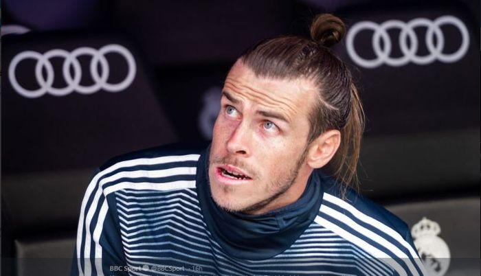 Penyerang Real Madrid, Gareth Bale.