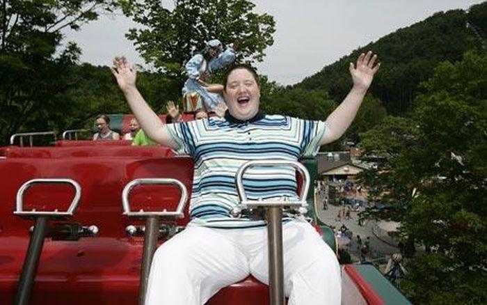 Amy Wolfe dengan Roller Coaster