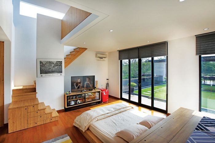 Kamar Tidur Jepang Sederhana  boleh dicontoh begini paduan gaya khas jepang dengan