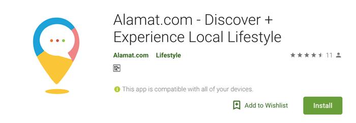Alamat.com Aplikasi Alamat.com