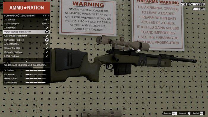Senapan M40A5