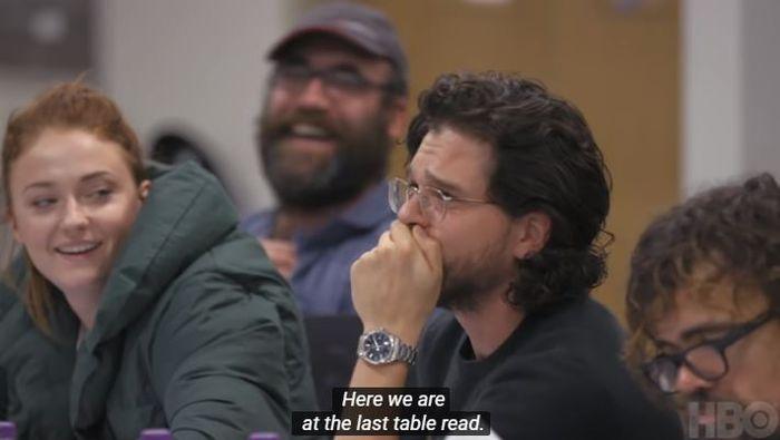 Harington shock saat reading episode terakhir.