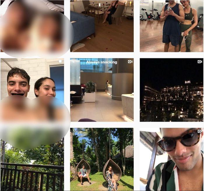 Ada 28 foto dan video yang diunggah kekasih Cinta Laura