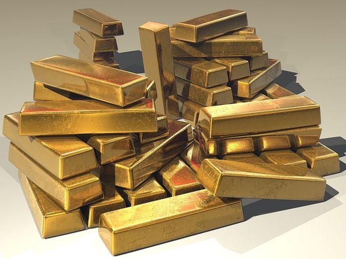 Ilustrasi menemukan emas