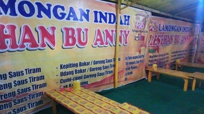 Warung Seafood Bu Anny yang viral karena mematok harga selangit