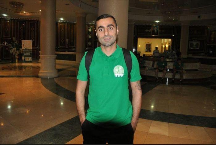 Artur Gevorkyan di Timnas Turkmenistan.