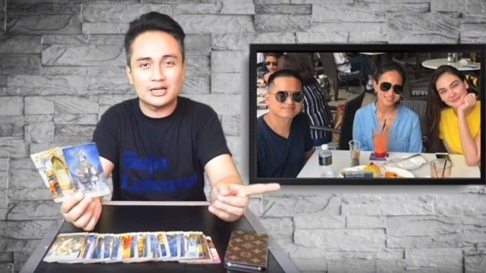 Denny Darko terawang hubungan Luna Maya dengan Faisal Nasimuddin