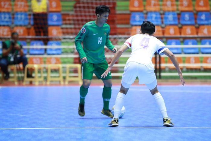 Jersey hijau yang dipakai timnas Indonesia melawan Taiwan pada partai pertama Piala Asia Futsal U-20 menjadi polemik.