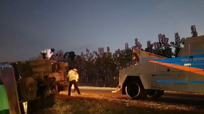 Tribun Jabar/ Istimewa / Kecelakaan maut di Tol Cipali