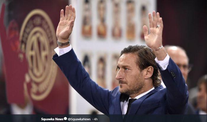 Francesco Totti resmi meninggalkan jabatan Direktur Teknik AS Roma pada 17 Juni 2019.