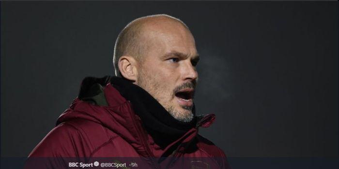 Pelatih interim Arsenal, Freddie Ljungberg.