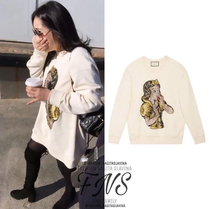Sweater Nagita Slavina