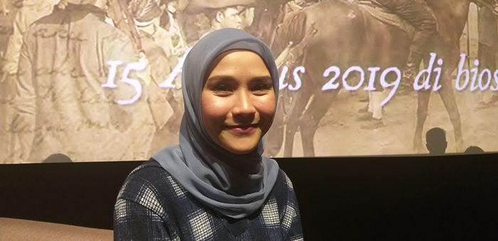 Zaskia Adya Mecca saat ditemui Grid.ID di kawasan Epicentrum XXI, Jakarta Selatan, Rabu (19/6/2019).