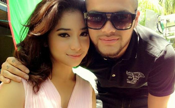 Nikita Willy dan Diego Michiels. (Twitter/Diego Michiels via Tribunnews.com)