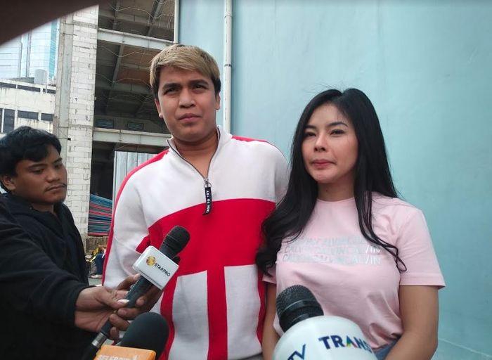 Billy Syahputra dan Elvia Cerolline saat ditemui Grid.ID di kawasan Tendean, Mampang, Jakarta Selatan, Kamis (20/6/2019).