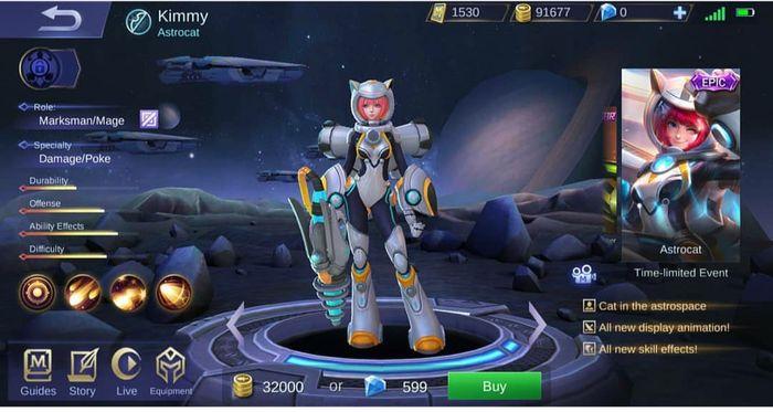 970 Gambar Mobile Legends Hanabi Terbaru