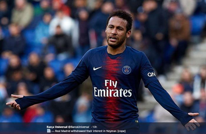 Penyerang Paris Saint-Germain, Neymar