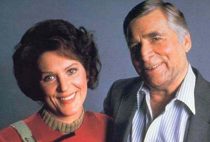Majel Barrett dan suaminya