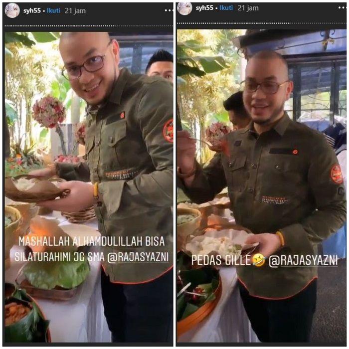 Bubu datang ke rumah Syahrini (Instagram/ @syh55)