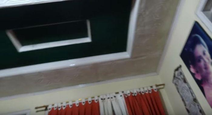 Desain interior rumah Lina tampak sederhana