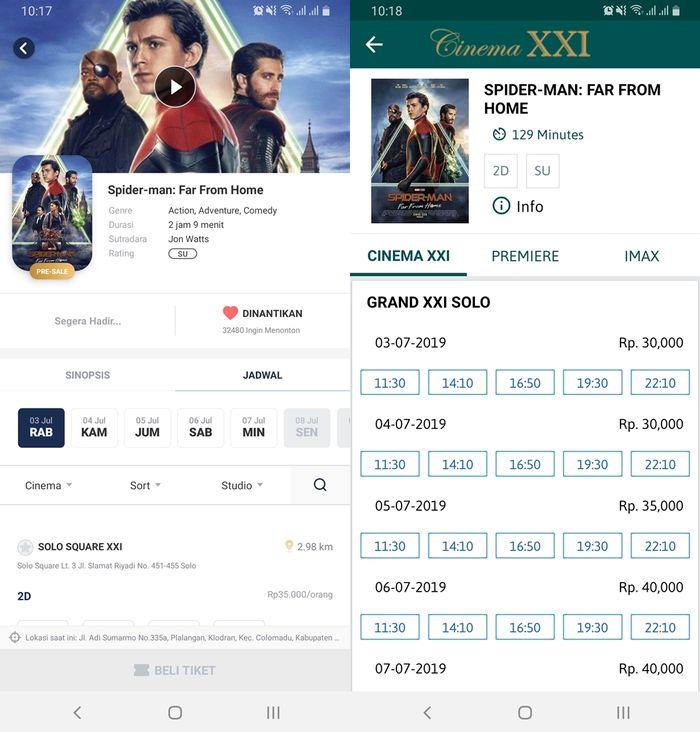 Tiket Film Spider Man Far From Home Di Indonesia Sudah Bisa Dibeli