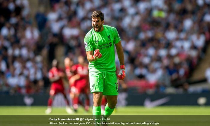 Kiper Liverpool, Alisson Becker