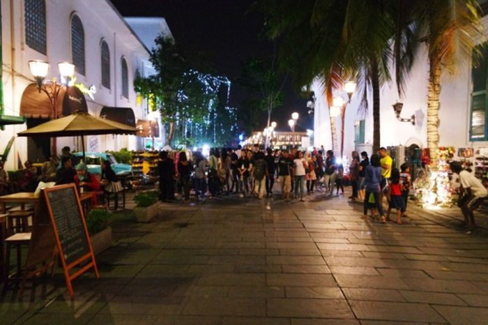 Susana pedestrian di Kota Tua