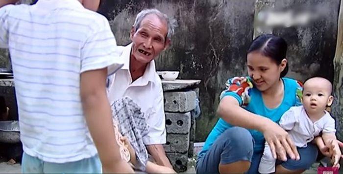 Yu dan suaminya yang kini sudah tua