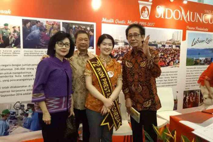 Audrey Yu Jia Hui dikabarkan dapat tawaran istimewa dari Jokowi