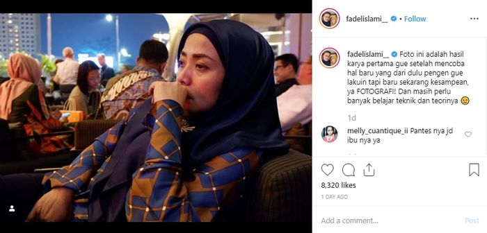 Fadel Islami Tunjukkan Hobi Barunya, Ekspresi Muzdalifah Justru Jadi Sorotan