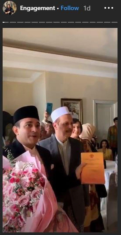 Ismail Fajri lamar Tsamara Amany