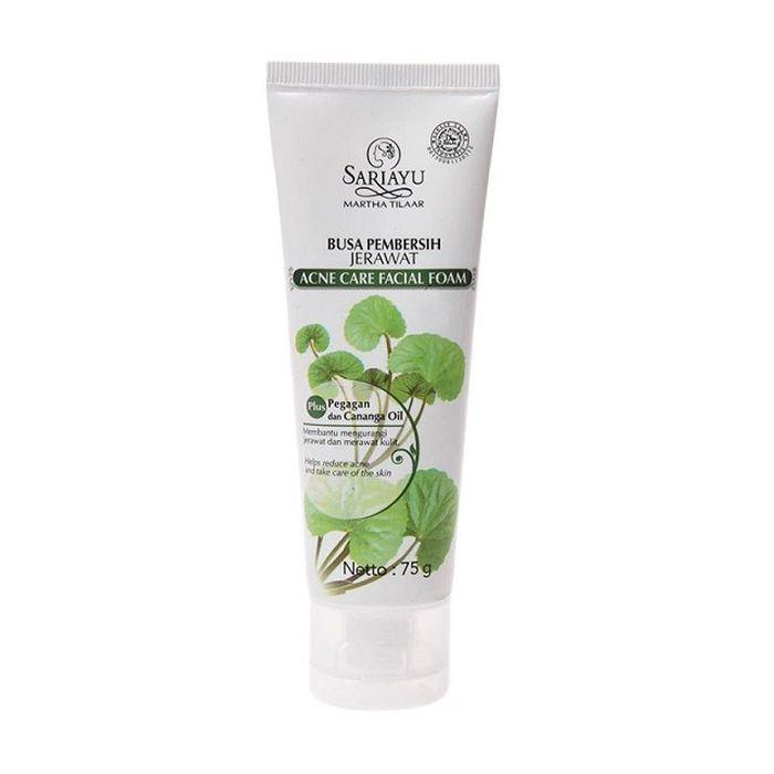 Sariayu Anti Acne Facial Foam (tokopedia.com)