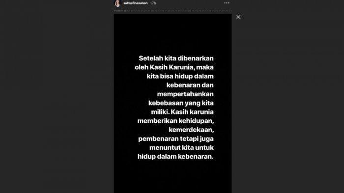 Instagram @Salamfinasunan