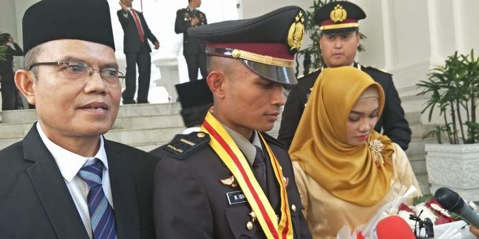 Muhammad Idris, meraih penghargaan Adhi Makayasa karena menjadi lulusan terbaik Akpol tahun 2019.