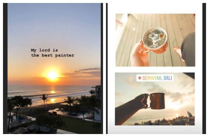 Potret pemandangan Bali yang diunggah Sooyoung SNSD