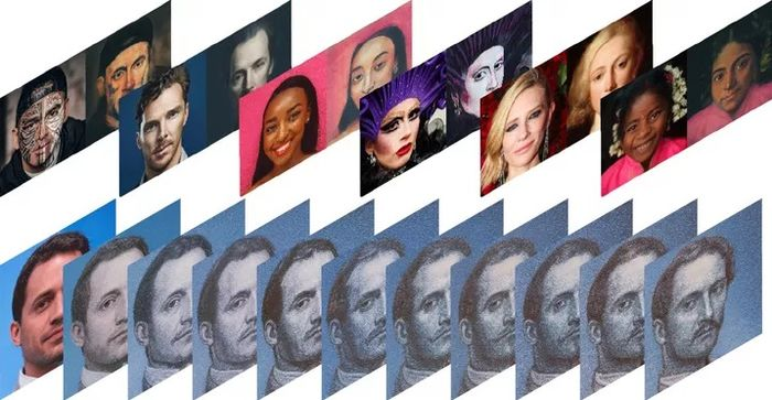 Hasil editan AI Portraits
