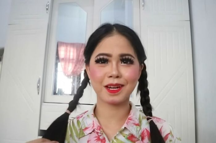 Viral! Niat Hati Dandan Cantik di Salon, YouTuber Ini Kaget Wajahnya Malah Jadi Mirip Annabelle
