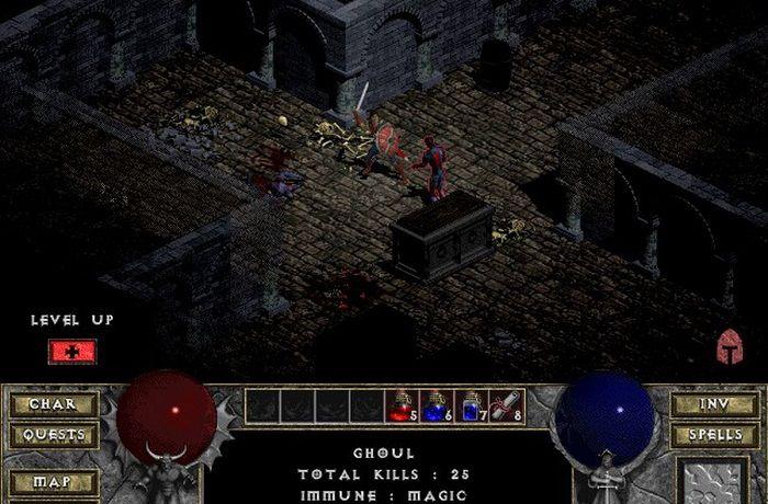 ilustrasi game Diablo