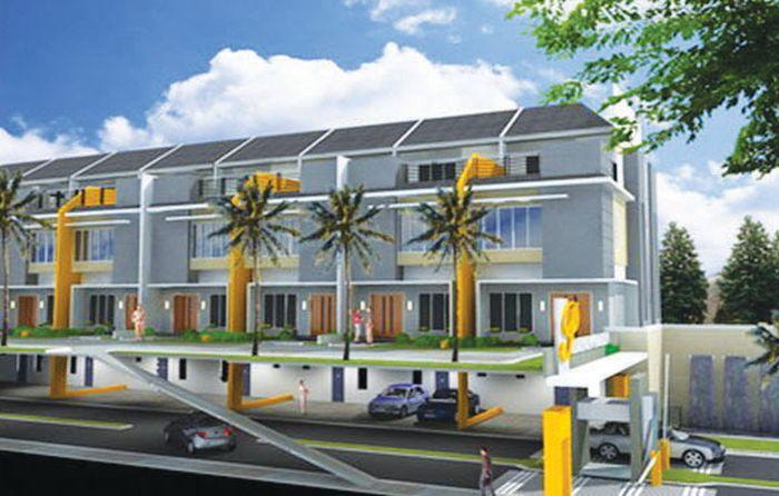 Contoh: Dalam dunia konstruksi, atap hijau dua lantai bisa terwujud.