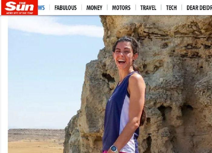 Ilmuwan Inggris, Dr Natali Christopher tewas setelah jatuh ke jurang saat melakukan jogging di sebuah pegunungan di Yunani.